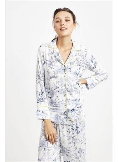 Penye Mood 9026 Pijama Takım Lacivert